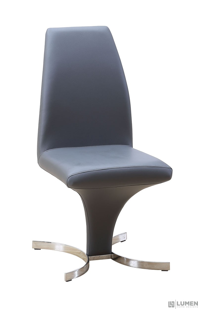 Retro Leatherette Dining Chair
