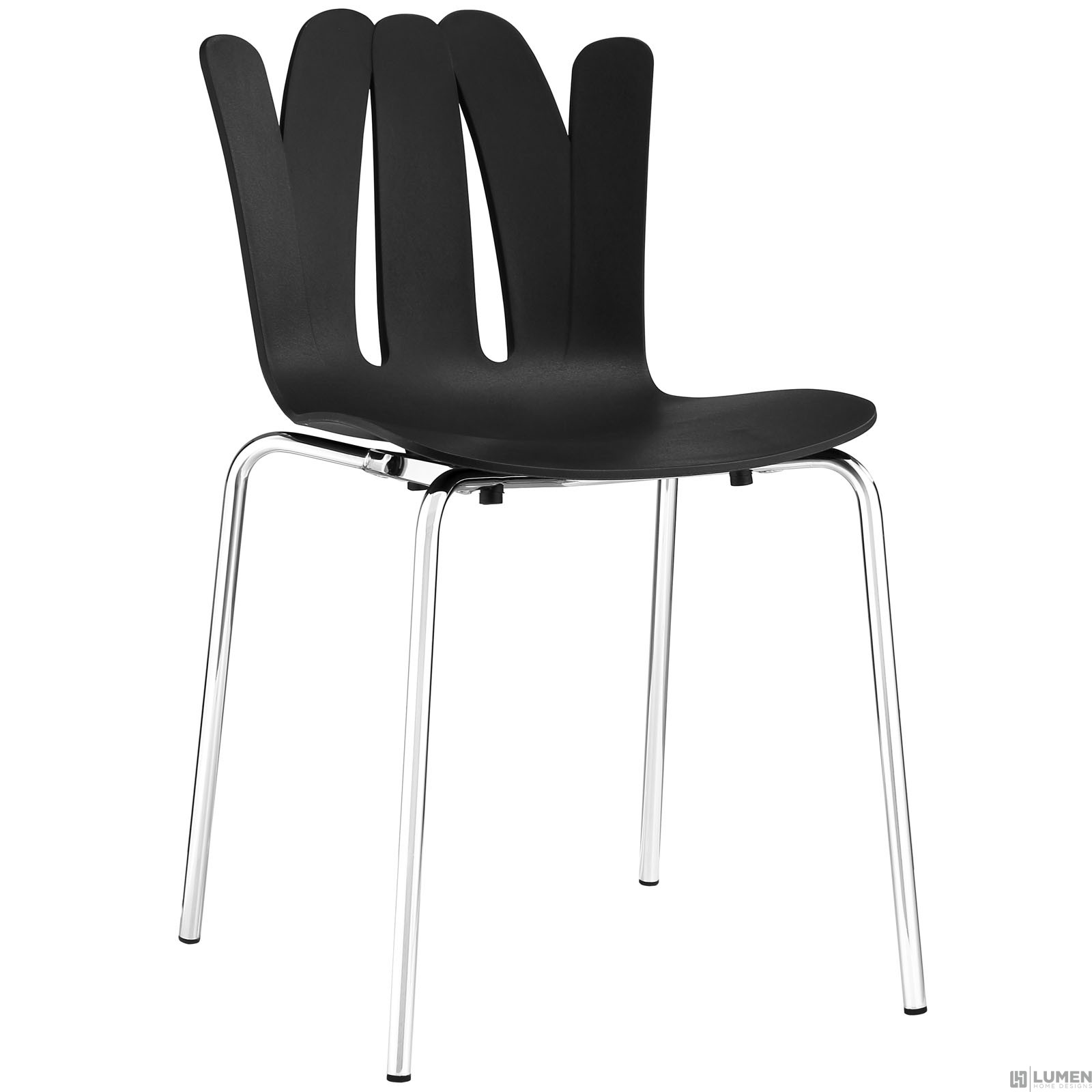 LHD-1496-BLK-Dining Chair