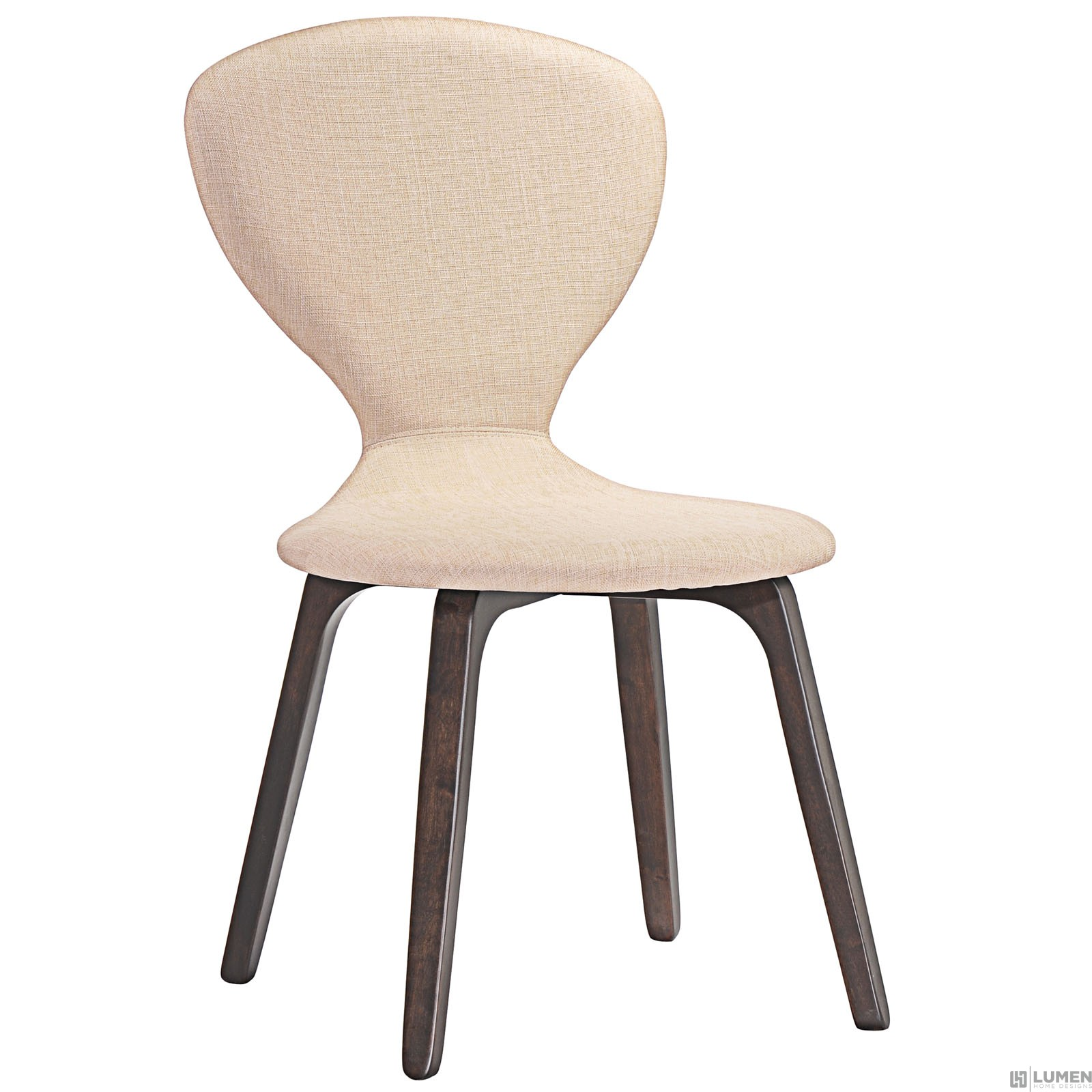 LHD-1628-WAL-BEI-Dining Chair