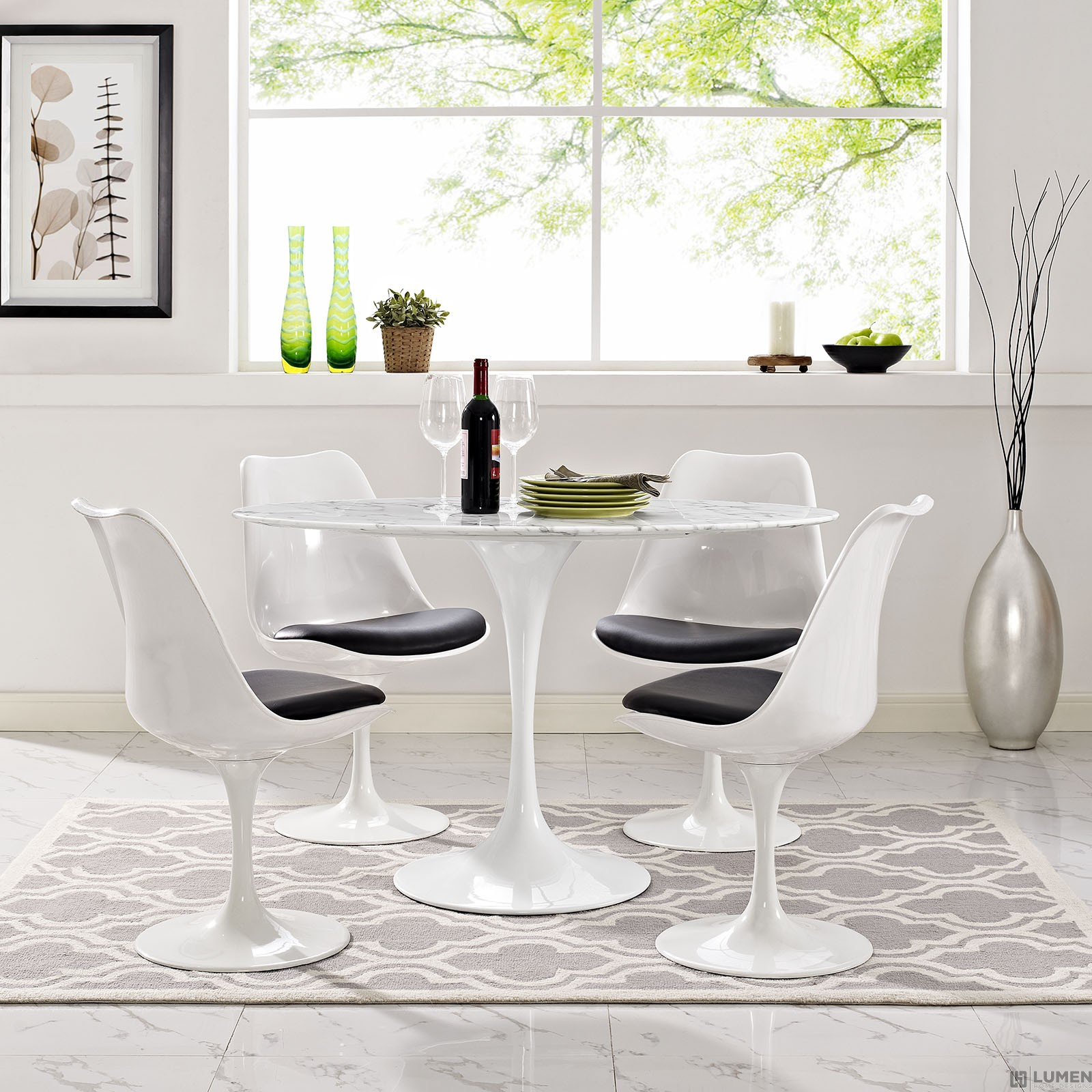 LHD-2021-WHI-Dining-Table