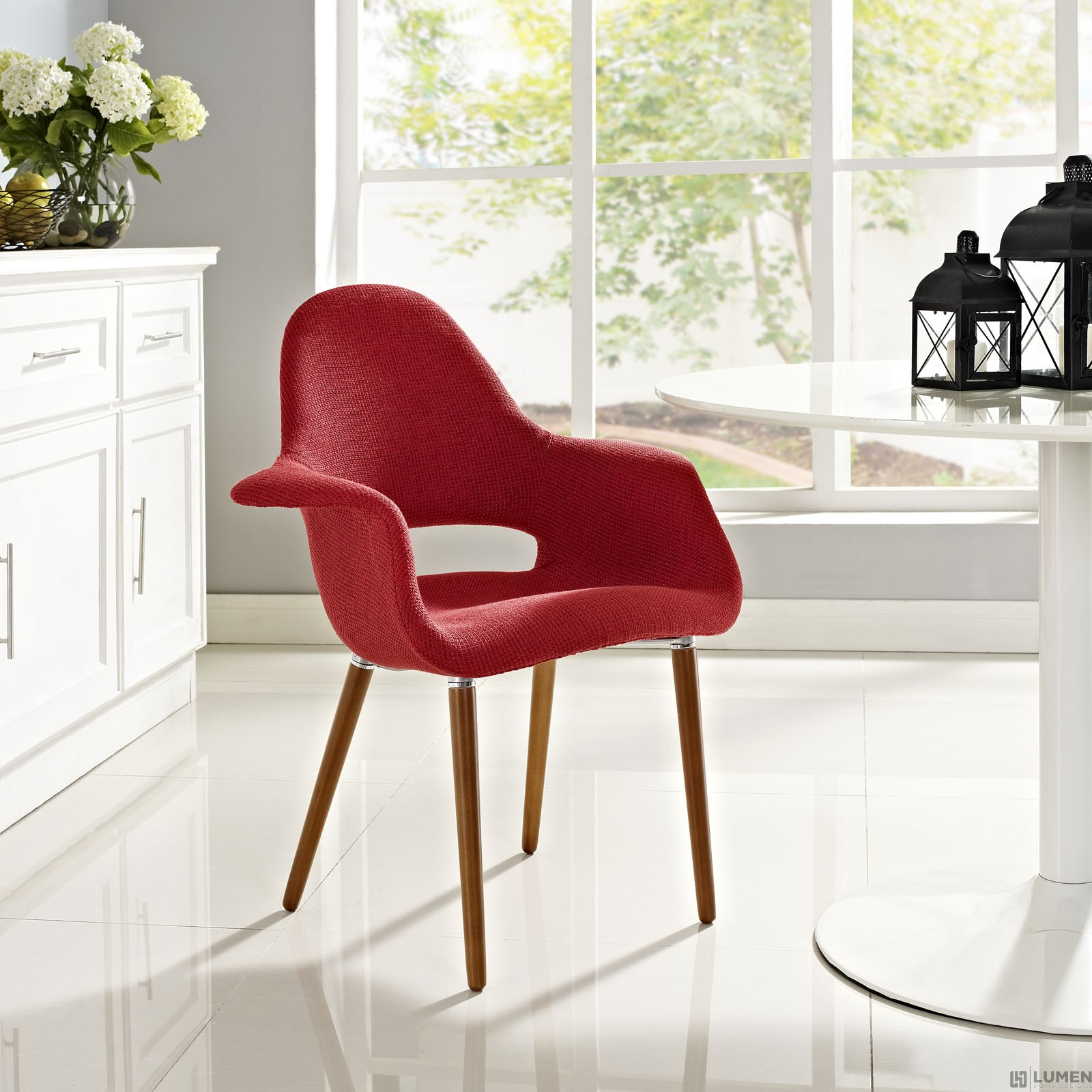 LHD-555-RED-Dining-Armchair