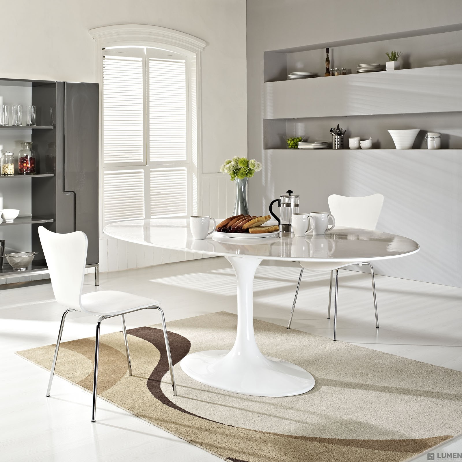 LHD-624-WHI-Dining-Table