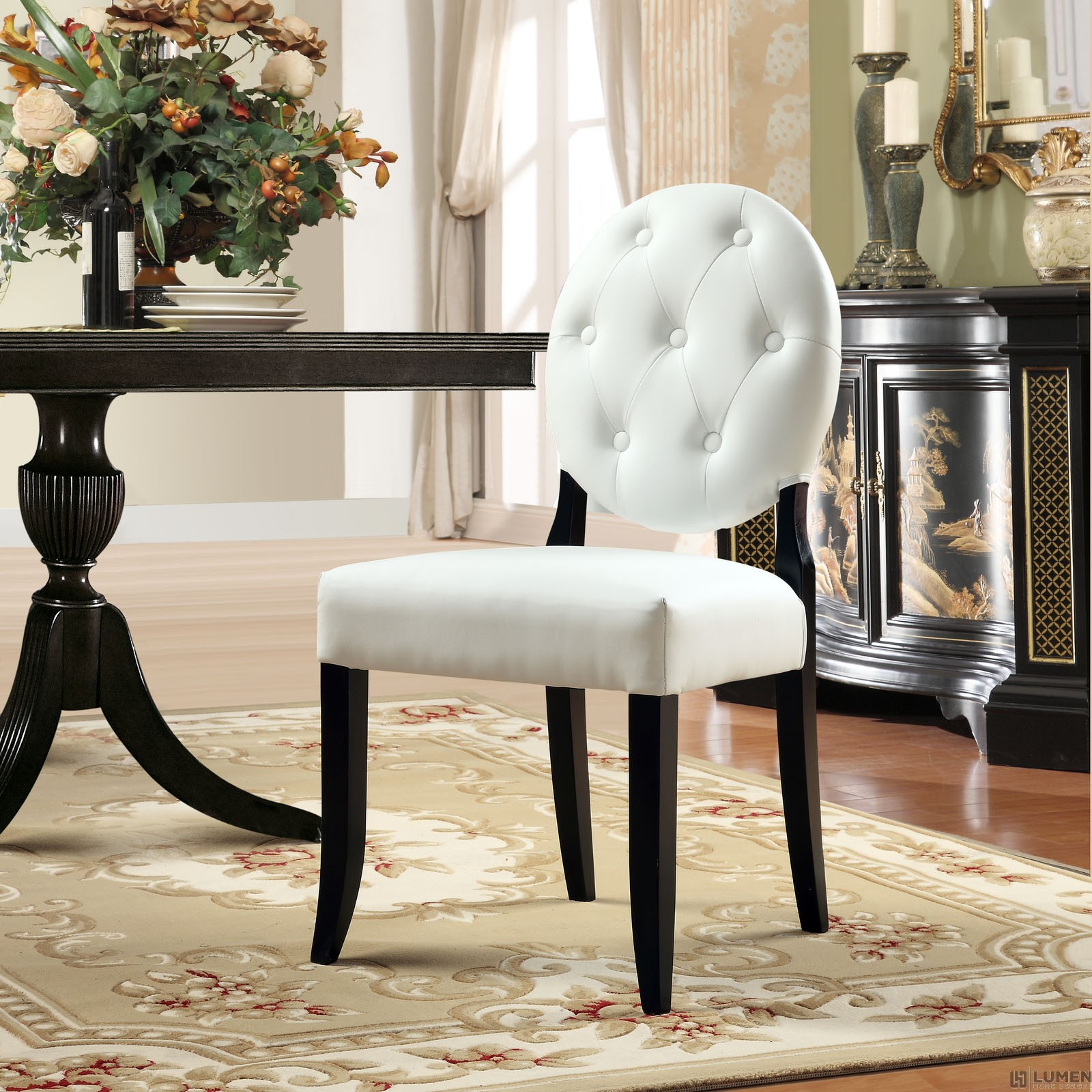 LHD-815-WHI-Dining Chair