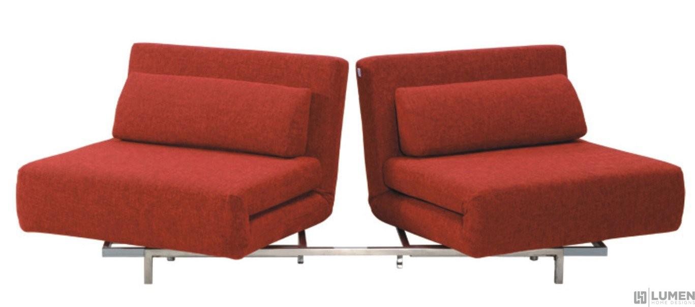 2 Seat Convertible Sleeper Sofa